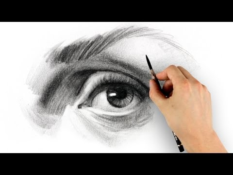 How to Draw an Eye - Step by Step