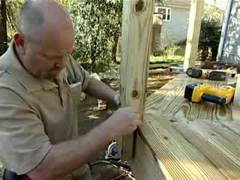 How To Build a Deck Part 5: Stairs & Railings - The Home Depot