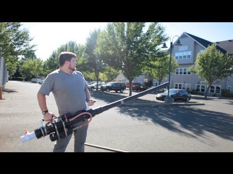 Dan Spangler's Combustion Cannon on Make: Live ep15
