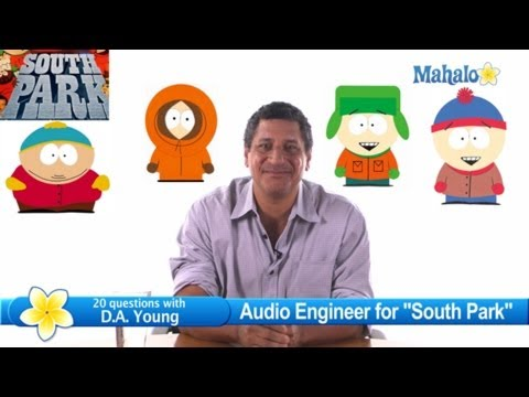"""South Park"" Sound Editor D.A. Young Talks About a Day at the Studio"