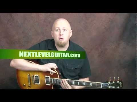 Learn Green Day inspired guitar punk rock song power chord palm muting Basket Case style lesson
