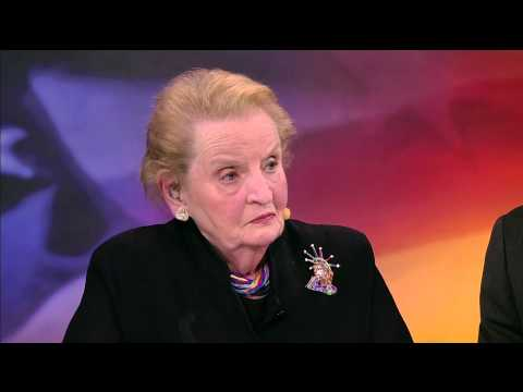 Former Secretary of State Madeleine Albright Talks To PBS NewsHour