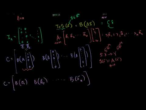 Compositions of Linear Transformations 2