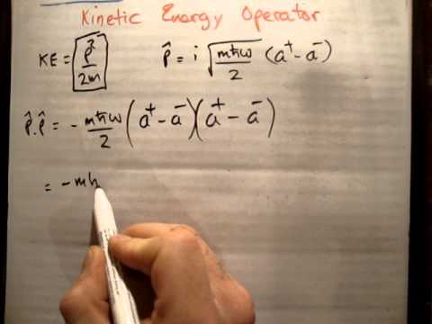 Kinetic energy operator expectation QM LHO
