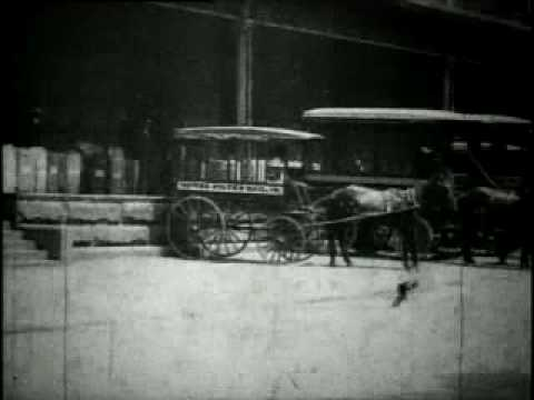 Wagons Loading Mail 1903