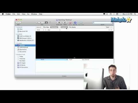 Using a Mac - Searching