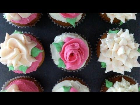 Ann's NEW easy buttercream roses flower pt1 - Ann Reardon - How To Cook That Ep030