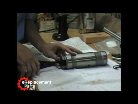 Bosch 11304 Demolition Hammer Part 9 Installing the Piston Retaining Ring