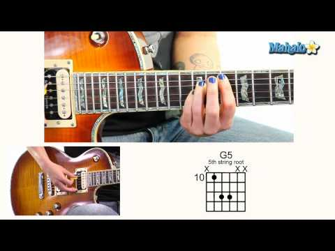 How to Play G5 10th Fret 5th String Root on Guitar
