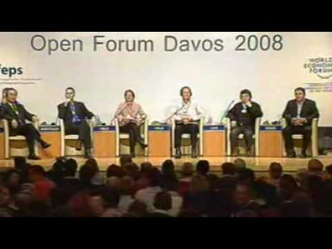 Davos Open Forum 2008 - Climate Change Divide