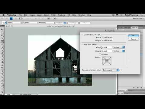 Adobe Photoshop CS4 Essentials Resize and Crop Images - Image Size Dialog Box