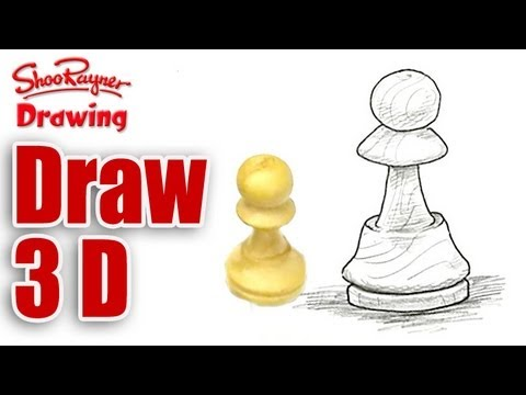 How to draw 3d objects