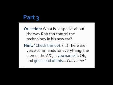 "American Slang - ""Cool Car"" - Lesson 8, Part 1"