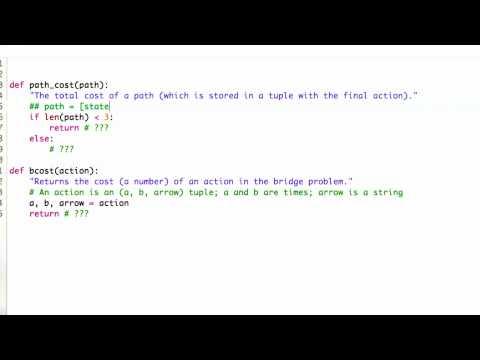 Calculating costs - CS212 Unit 4 - Udacity