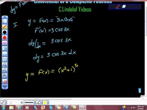 AP Calculus Differential of a Composite Function