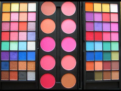 Inexpensive makeup: Double Stack Palettes review