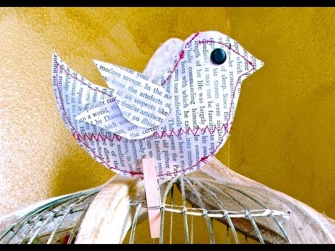 A Bird In The Hand: Craft Tutorial