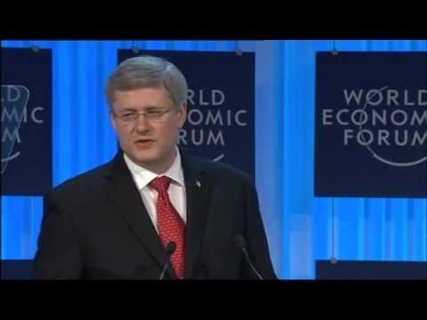 Davos 2012 - Stephen Harper