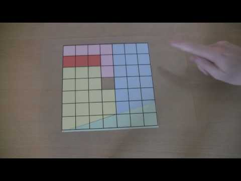 A Maths Puzzle: The Missing Square Solution