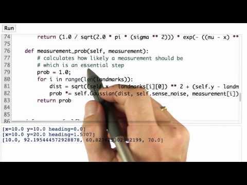 Robot Class Details - CS373 Unit 3 - Udacity