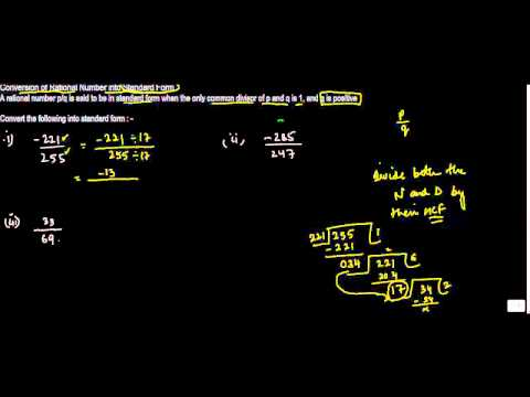 1019. Conversion of Rational Number into Standard Form