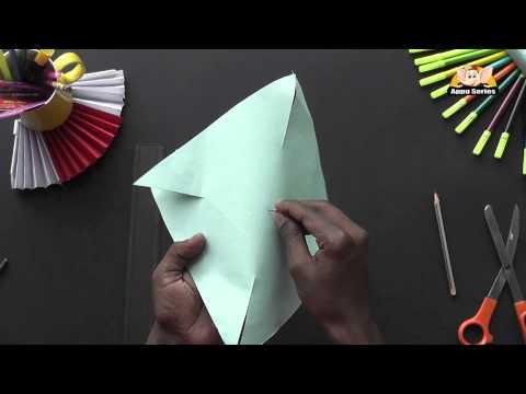 Make a Pinwheel the easy way - Arts & Crafts