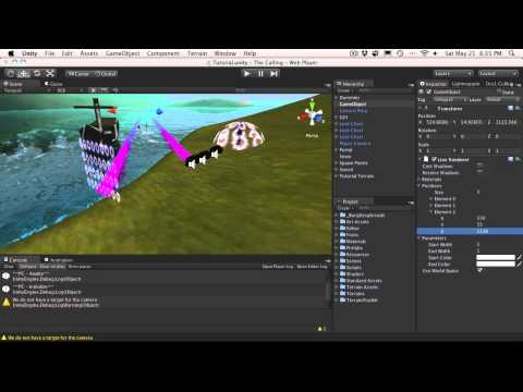 227. Unity3d Tutorial - Line Renderer