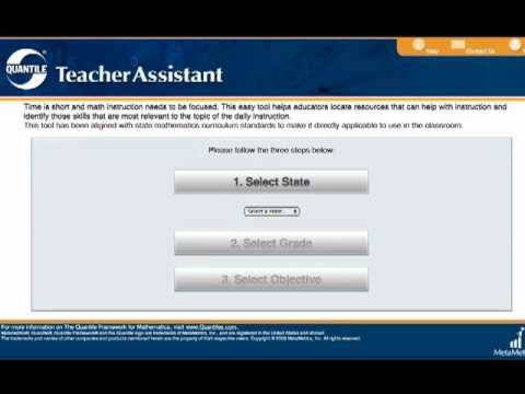 Overview of the Quantile Teacher Assistant