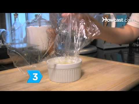 How to Poach Eggs with Plastic Wrap