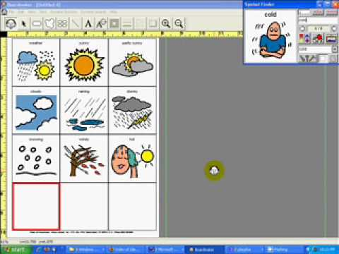 Weather Overlay With Boardmaker