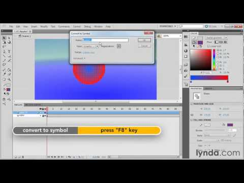 How to animate ripples in Flash | lynda.com tutorial