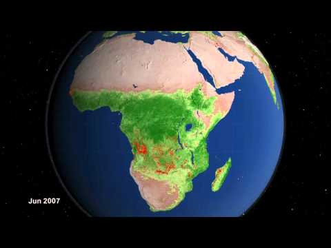 NASA | Ten Years of Global Fire Observations