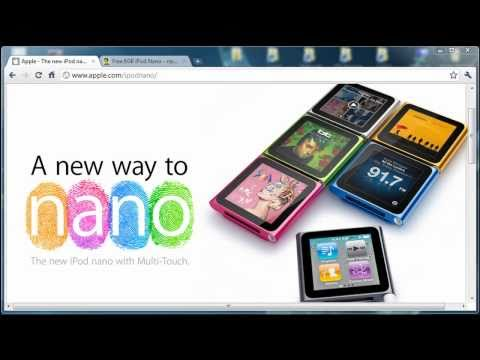 [contest over] 8GB iPod Nano 6G Giveaway - Watch and Win