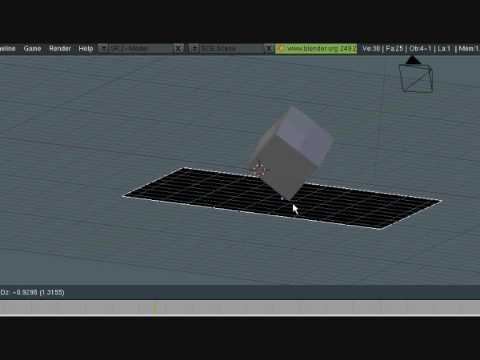 Blender Tutorial - Real Time Physics