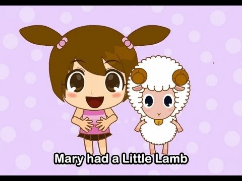 Muffin Songs - Mary Had A Little Lamb  | nursery rhymes & children songs with lyrics | muffin songs