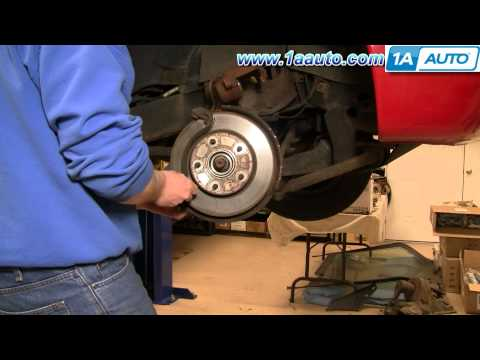 How To Do a Front Brake Job GMC S15 Sonoma Chevy S10 Pickup Blazer 1AAuto.com