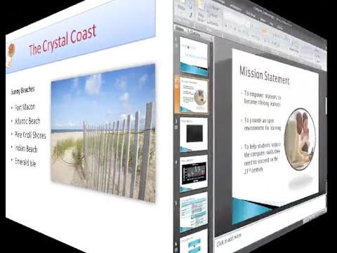 PowerPoint 2007: Using Transitions