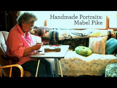 Handmade Portraits: Mabel Pike