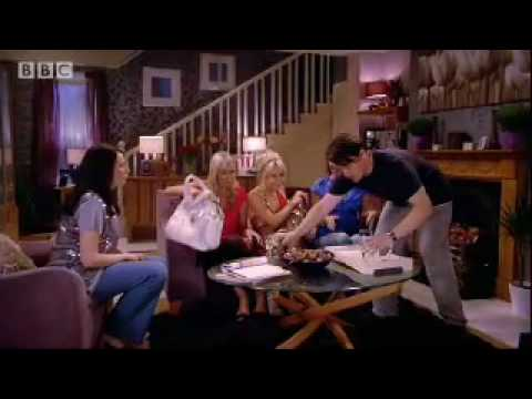 Lethal girls with Tamsin Outhwaite - Catherine Tate comedy sketch - BBC