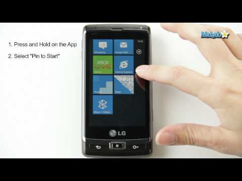 How to Pin Apps to the Homescreen in Windows Phone 7