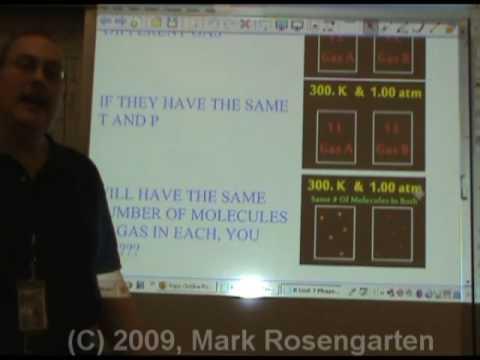 Chemistry Tutorial 7.04c:   Avogadro's Hypothesis