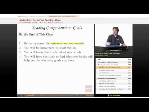 Reading Comprehension: Addendum -- For a Few Readings More