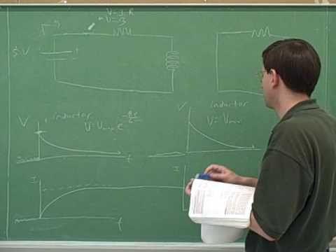 Capacitors and inductors; RC and RL circuits (7)