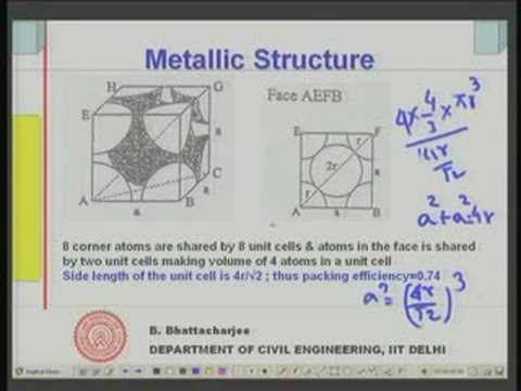 Module - 11 Lecture - 1 Metals Fundamentals