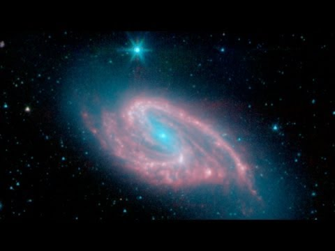 Deformed Spiral Galaxy (M66) - Deep Sky Videos