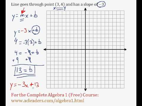 (Algebra 1) Linear Equations - Determining Linear Equations Pt. 2 (R)