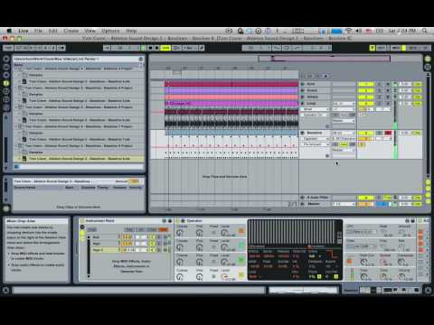 Tom Cosm - Ableton Live Sound Design 2 - Basslines - Intro