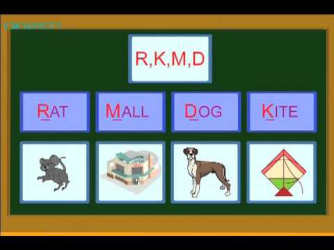 learns Alphabets Colors and Numbers around us Part 04