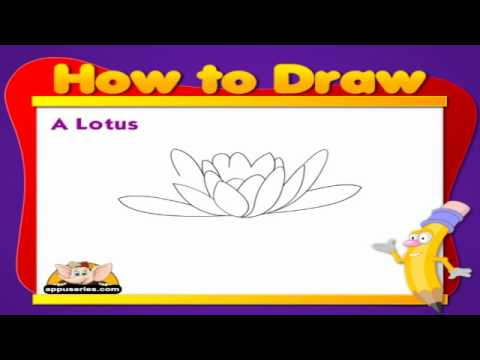 Learn to Draw Flower - Lotus