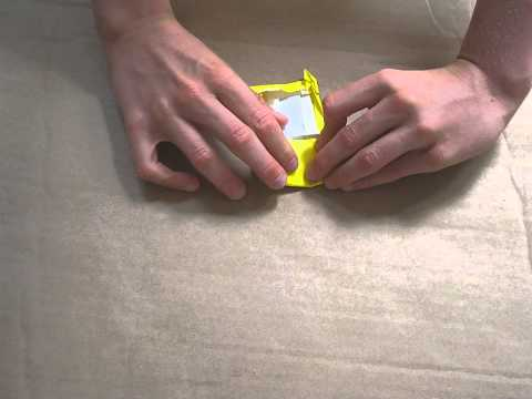 How to fold an Origami Phone designed by Michael Anton
